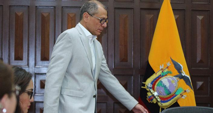 Jorge Glas, el exvicepresidente de Ecuador (archivo)
