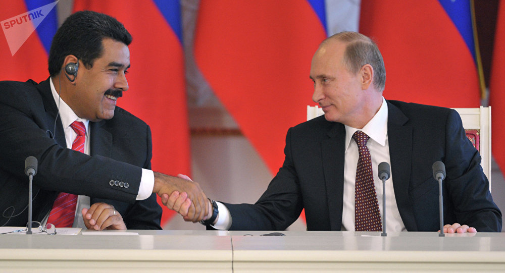 Maduro y Putin fortalecen nexos