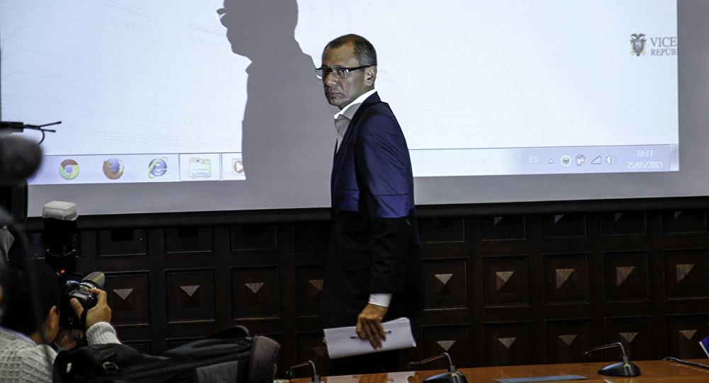 Jorge Glas, el exvicepresidente de Ecuador