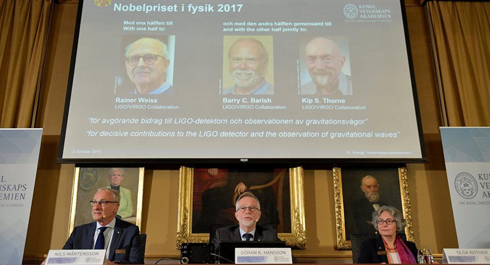 Nobel de Física a la detección de las ondas gravitacionales