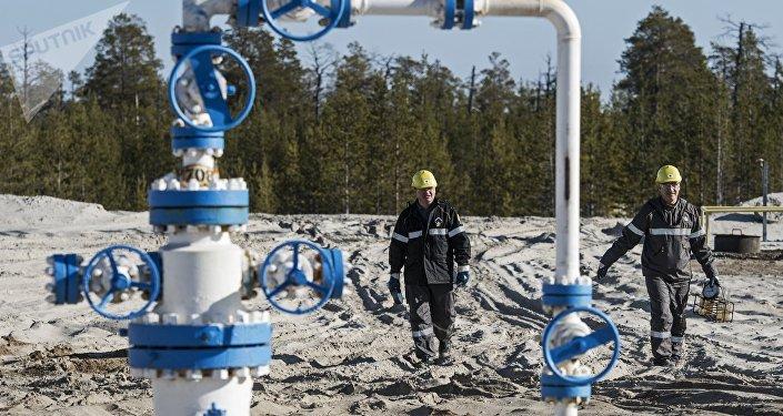 Extracción de petróleo y gas en Rusia