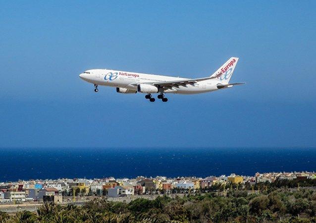 Un avión de Air Europa (archivo)