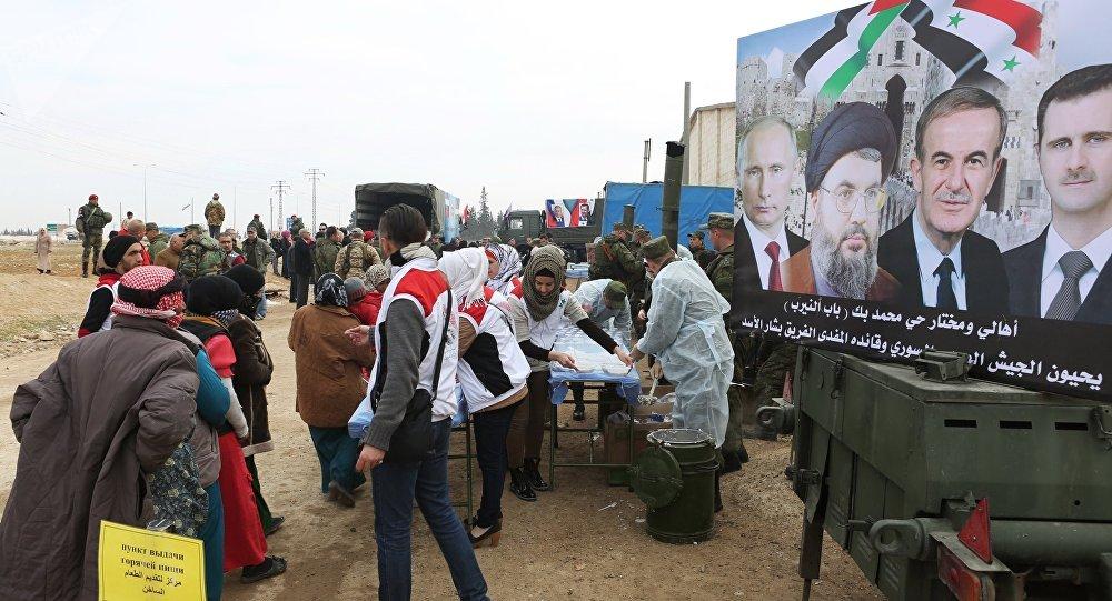 Situación humanitaria en Alepo, Siria