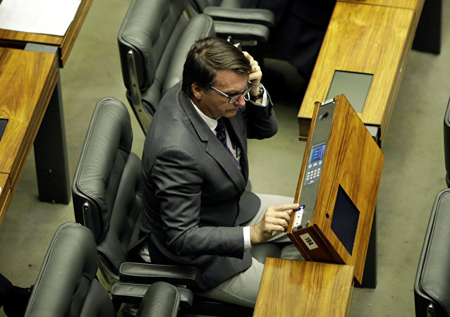 Jair Bolsonaro, diputado brasileño