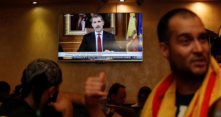 El discurso del Rey de España Felipe VI
