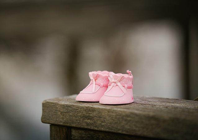 Zapatos de bebé (imagen referencial)