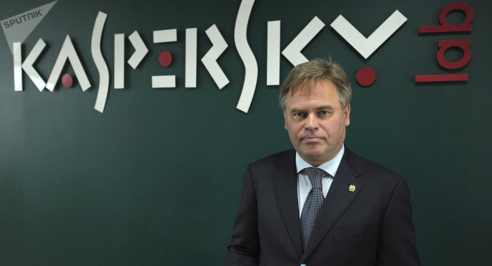Director General de Kaspersky Lab, Evgeny Kaspersky (archivo)