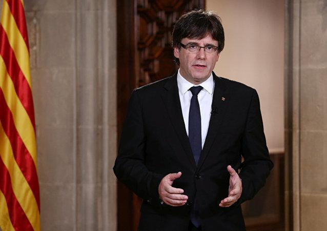 Carles Puigdemont, el presidente catalán