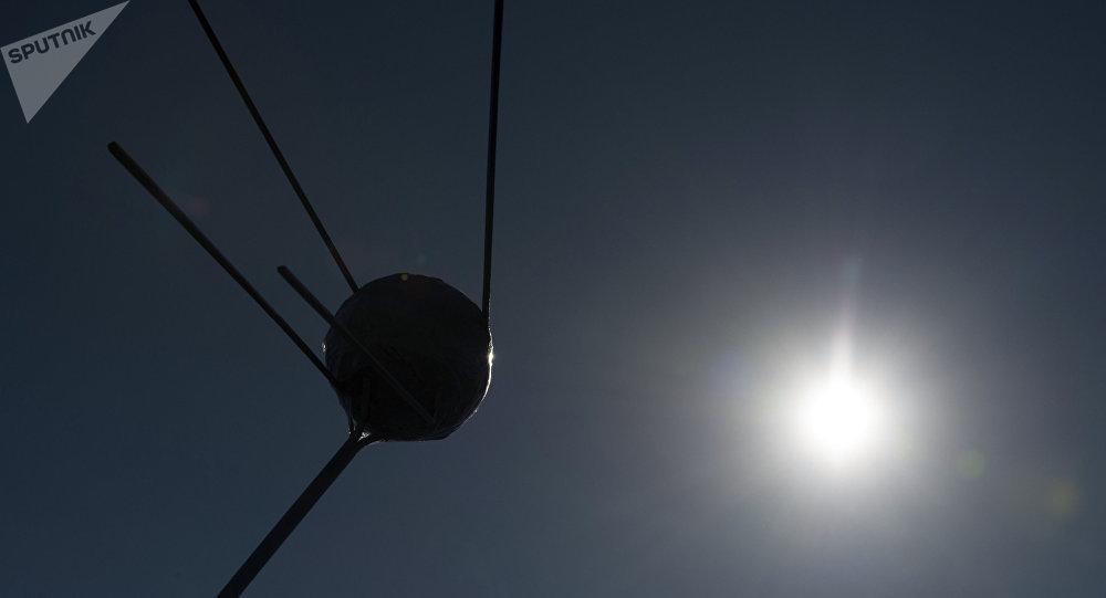 Modelo del satélite Sputnik 1