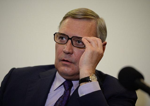 Mijaíl Kasiánov, el presidente del partido opositor ruso Parnas