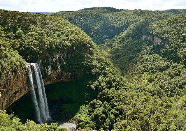 Vistas del estado brasileño de Rio Grande do Sul (imagen referencial)