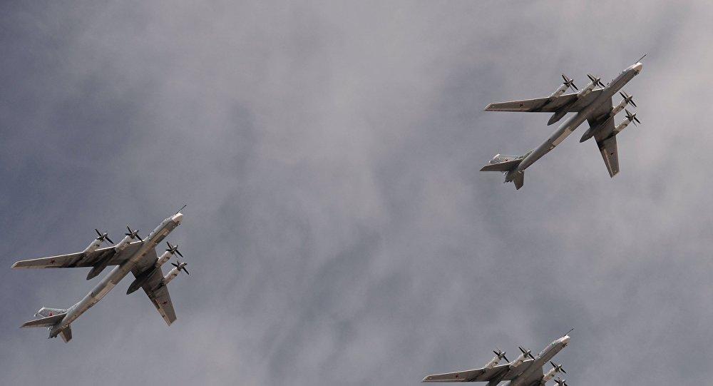 Bombarderos estratégicos portamisiles Tu-95MS