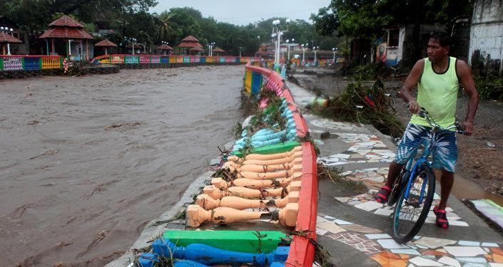 Consecuencias de la tormenta tropical Nate en Managua, Nicaragua