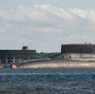 El submarino Dmitri Donskoi