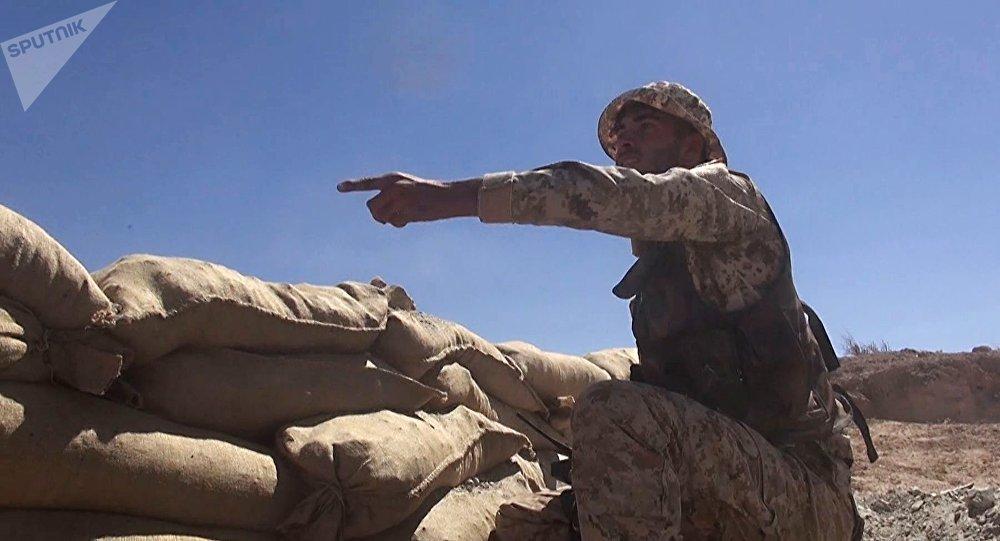 Las tropas sirias en Deir Ezzor (imagen referencial)