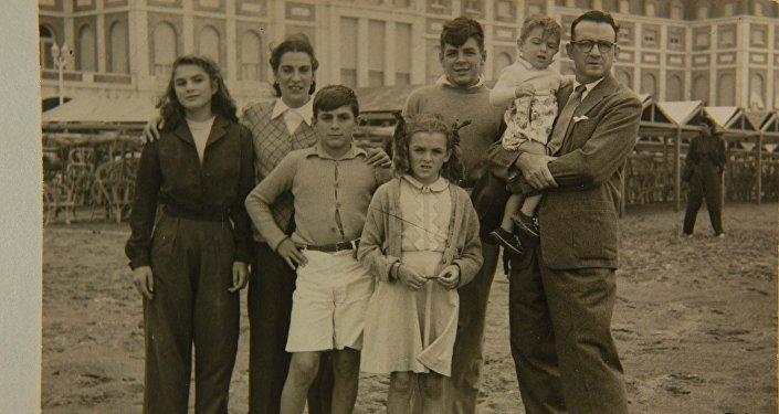 La familia Guevara en Mar del Plata