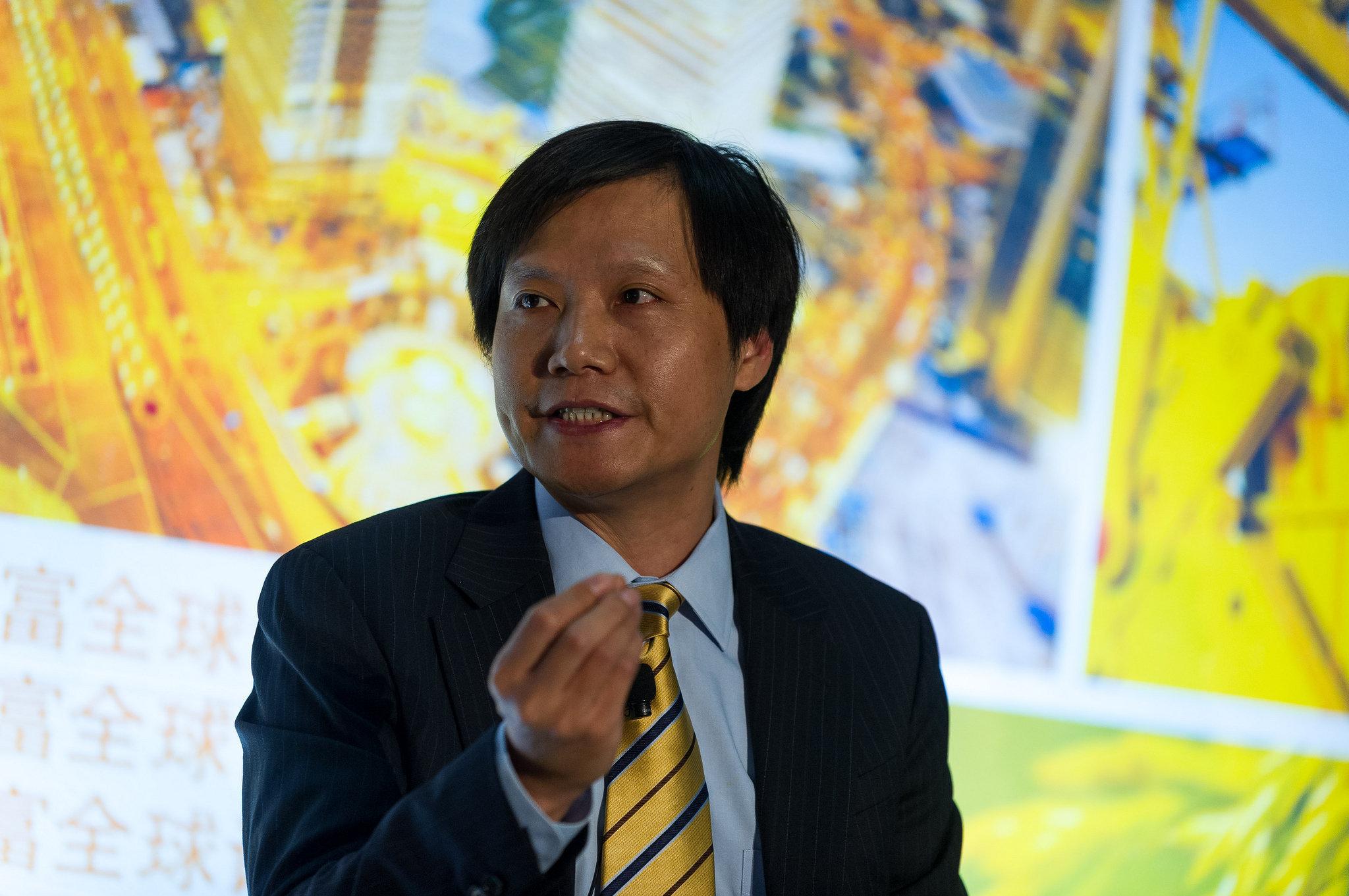 Lei Jun, presidente de Xiaomi