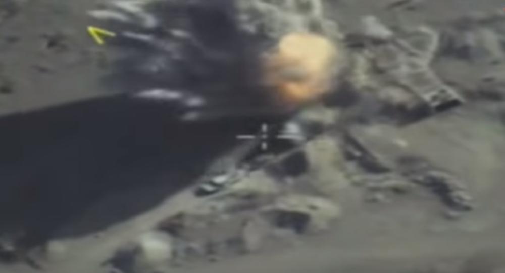 Fuerza Aérea rusa pulveriza a comandantes de Daesh en Siria