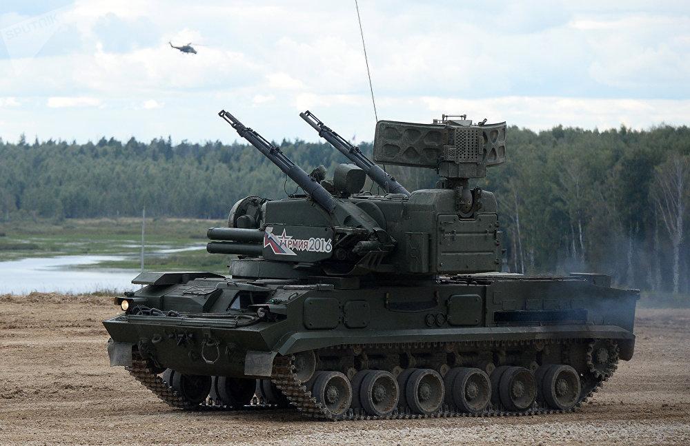 Sistema antiaéreo autopropulsado Tunguska-M
