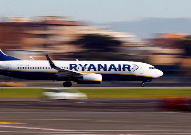 Avión de Ryanair (archivo)