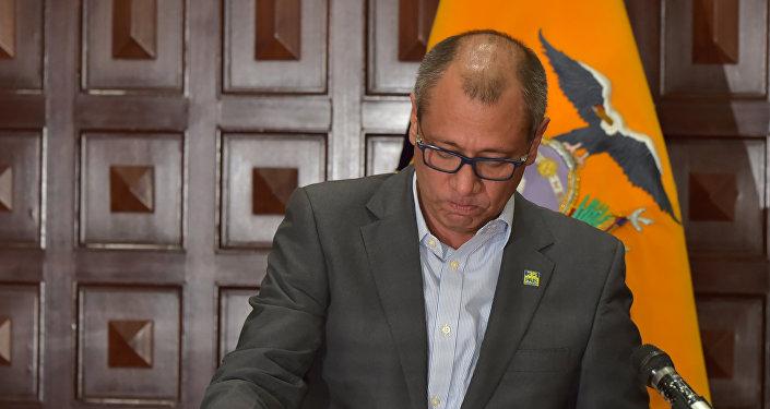 Jorge Glas, el vicepresidente de Ecuador