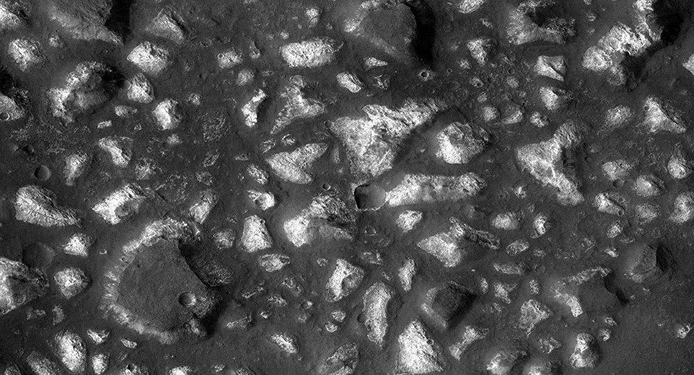 Vistas de la región del mar de Eridania, en Marte, desde el Mars Reconnaissance Orbiter (MRO) de la NASA