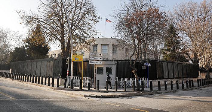La embajada de EEUU en Ankara (archivo)