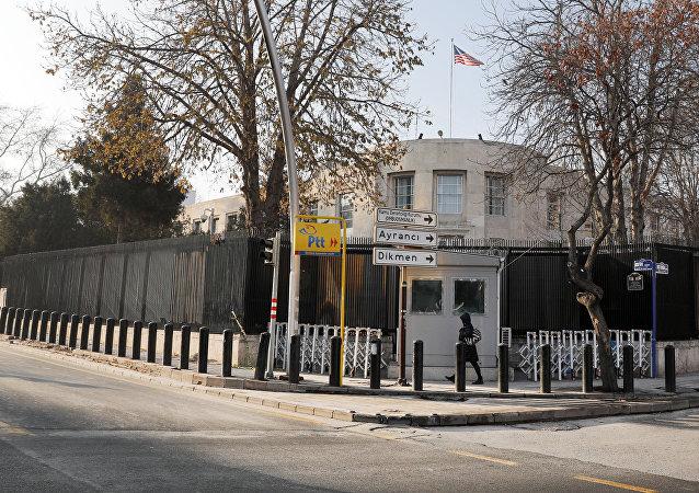La embajada de EEUU en Ankara