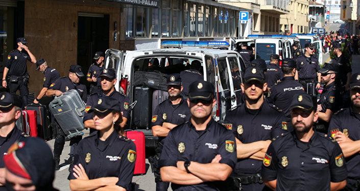 Policía Nacional de España en Cataluña