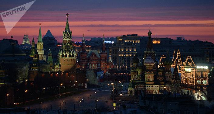 Kremlin y Palza Roja, Moscú, Rusia