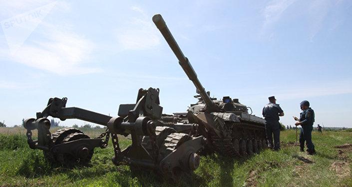 Situación en Lugansk, Ucrania (archivo)