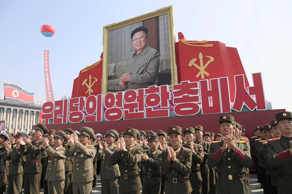 Corea del Norte celebra el XX aniversario de la elección de su difunto líder