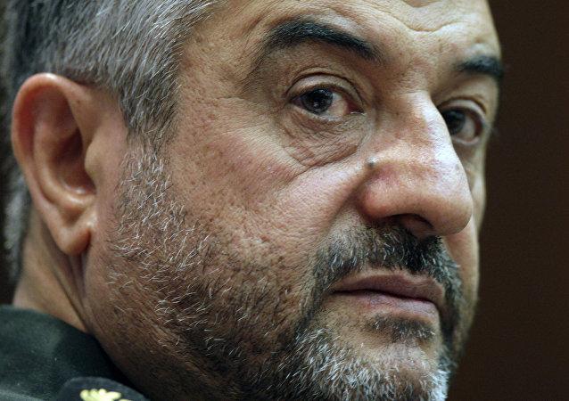 El general Mohamad Ali Jafari, comandante de la Guardia Revolucionaria de Irán (archivo)