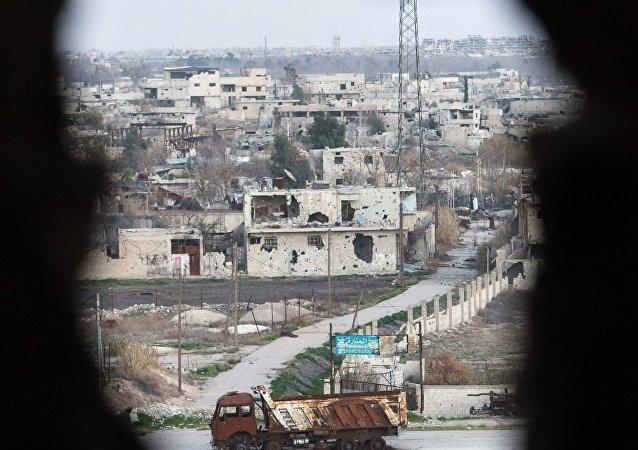 Territorio sirio controlado por el grupo terrorista Al Nusra
