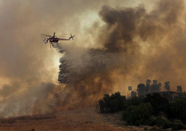 Incendios forestales en California, EEUU