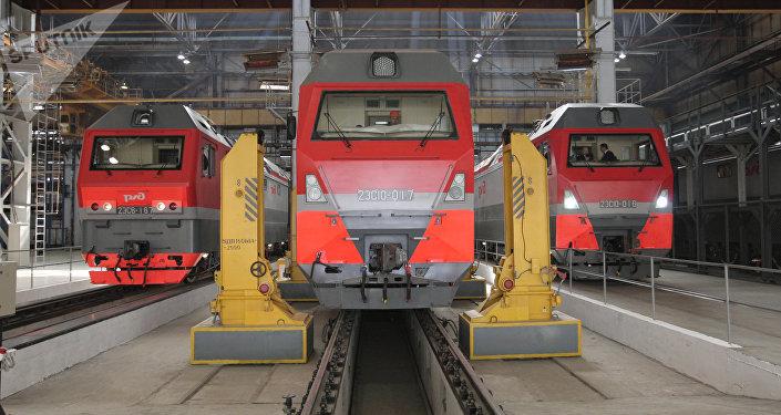 Locomotoras (imagen ilustrativa)