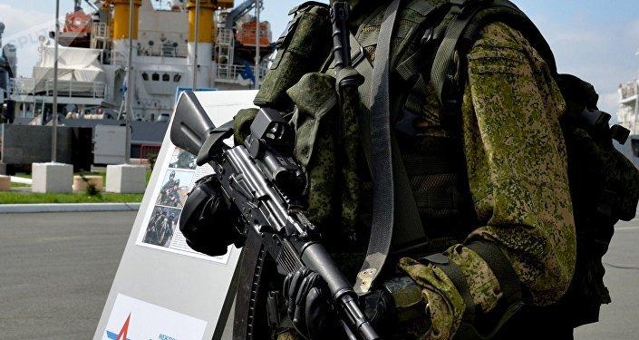 El traje blindado ruso Rátnik