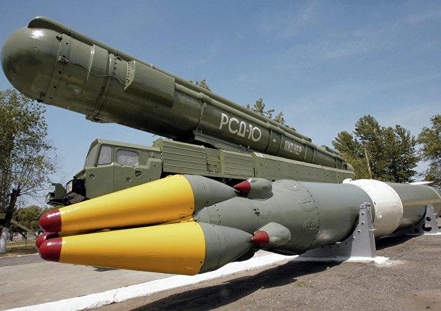 Misil de alcance medio RSD-10 Pioneer (imagen referencial)
