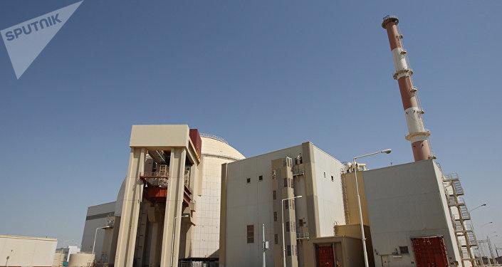 Planta nuclear en Irán (imagen referencial)