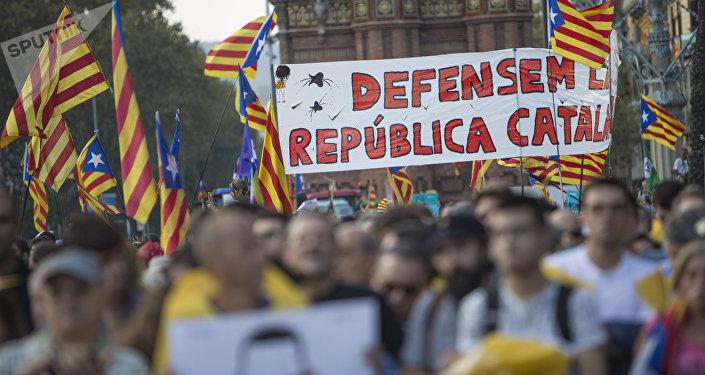 El referéndum en Cataluña (archivo)