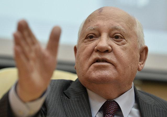 Mijaíl Gorbachov, expresidente de la Unión Soviética