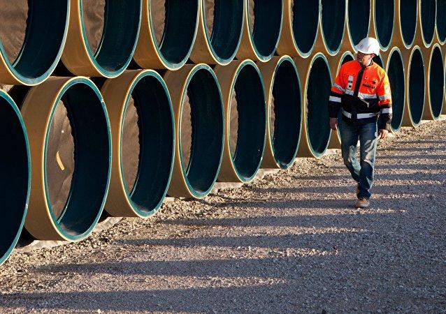 Tuberías para el gasoducto Nord Stream