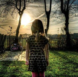 Una niña (imagen referencial)