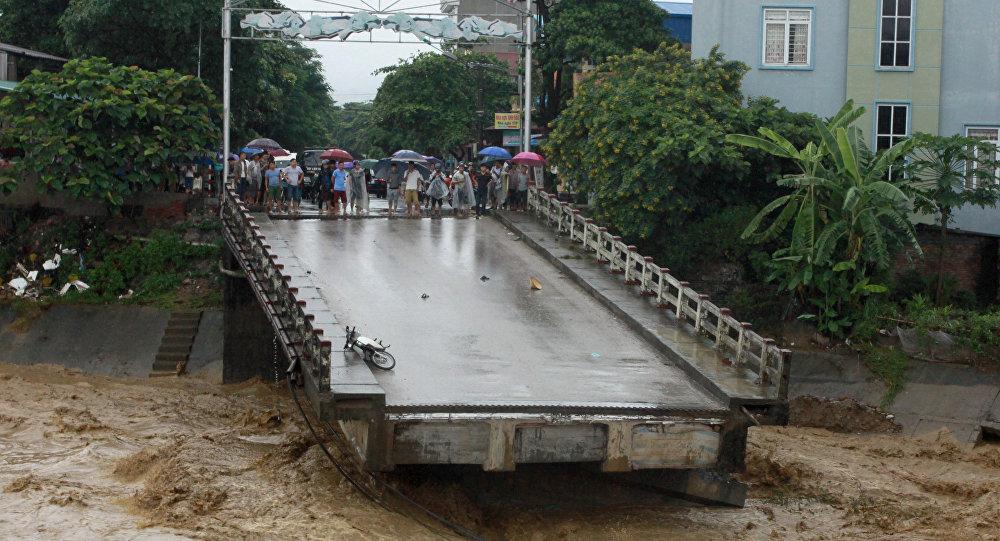 37 muertos por tormenta tropical: En Vietnam
