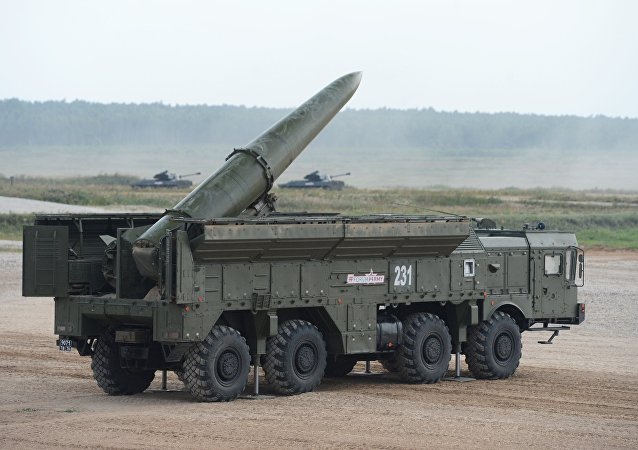 Sistema de misiles Iskander (archivo)