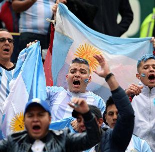Hinchas argentinos