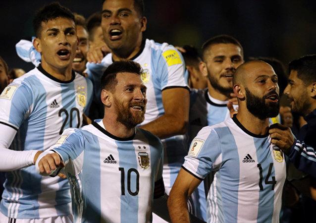 La selección de Argentina