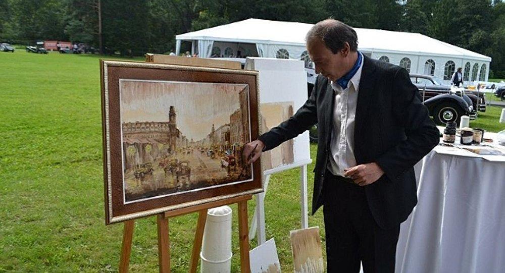 Vitali Kasatkin, artista ruso