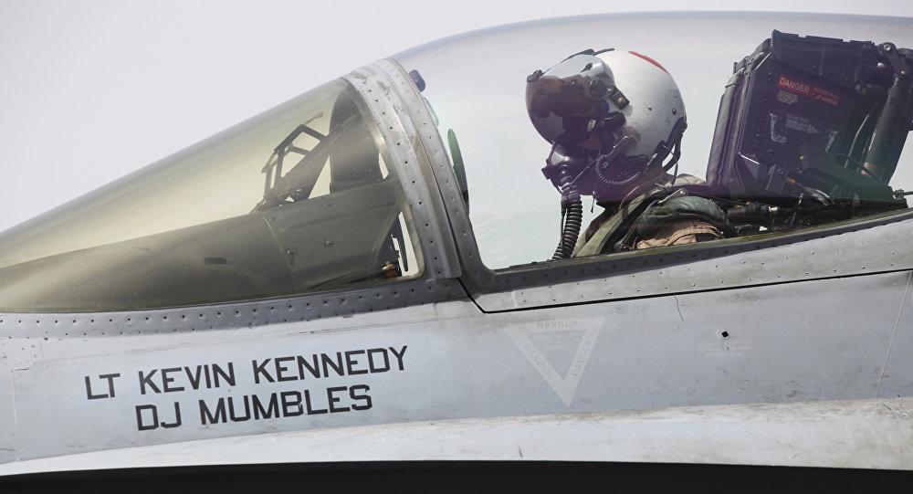 Un piloto estadounidense en Siria