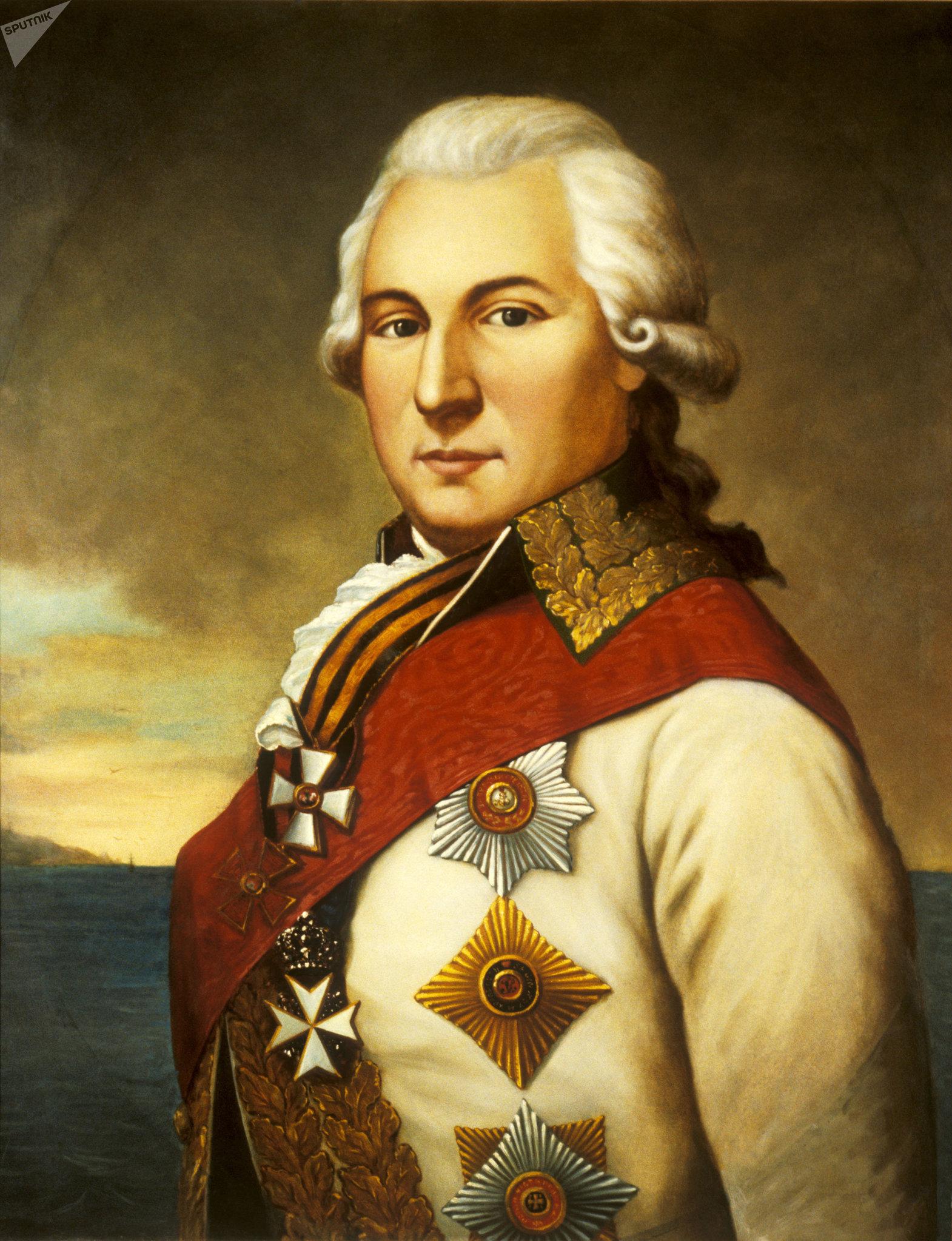 José de Ribas, gobernador de Odesa